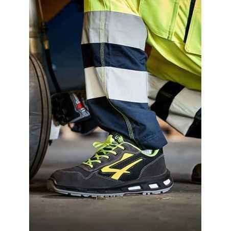 Chaussure de Sécurité Basse Yellow S1P U-POWER