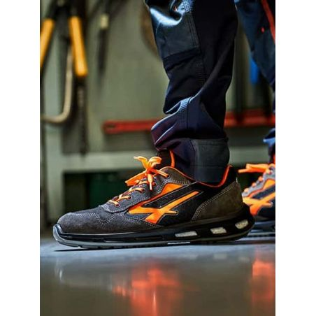 Chaussure de Sécurité Basse Orange S1P U-POWER