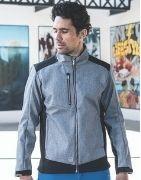Softshell travail homme, le vêtement professionnel contre le froid