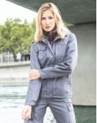 Bleu de travail femme pour une protection complète